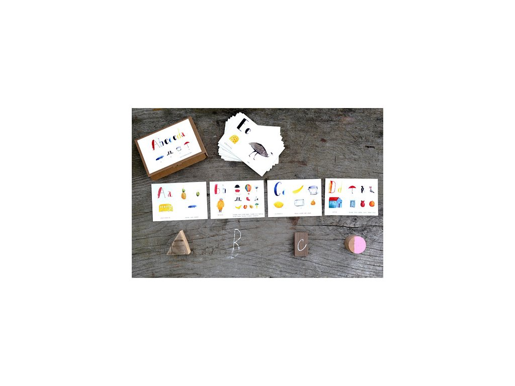 Abeceda - didaktické karty