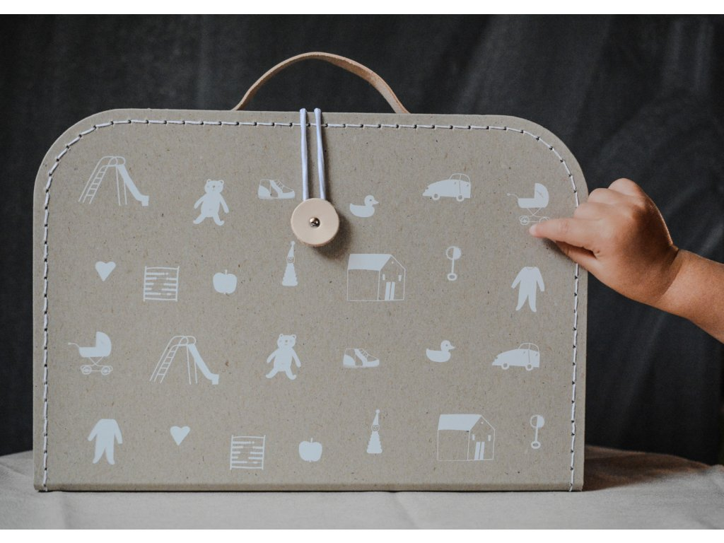 Kufřík To je moje - béžový