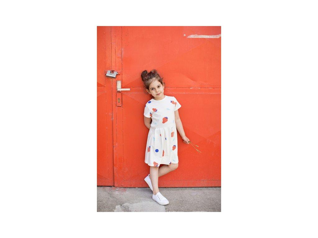 MILE Letní šaty Jahody