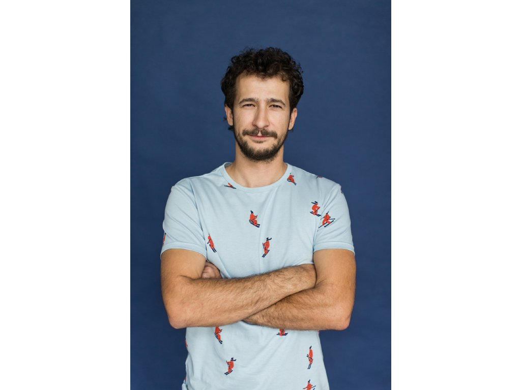 Tričko pro tatínka Lyžaři