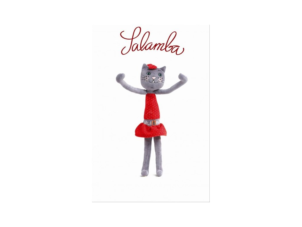 SALAMBA - látková hračka