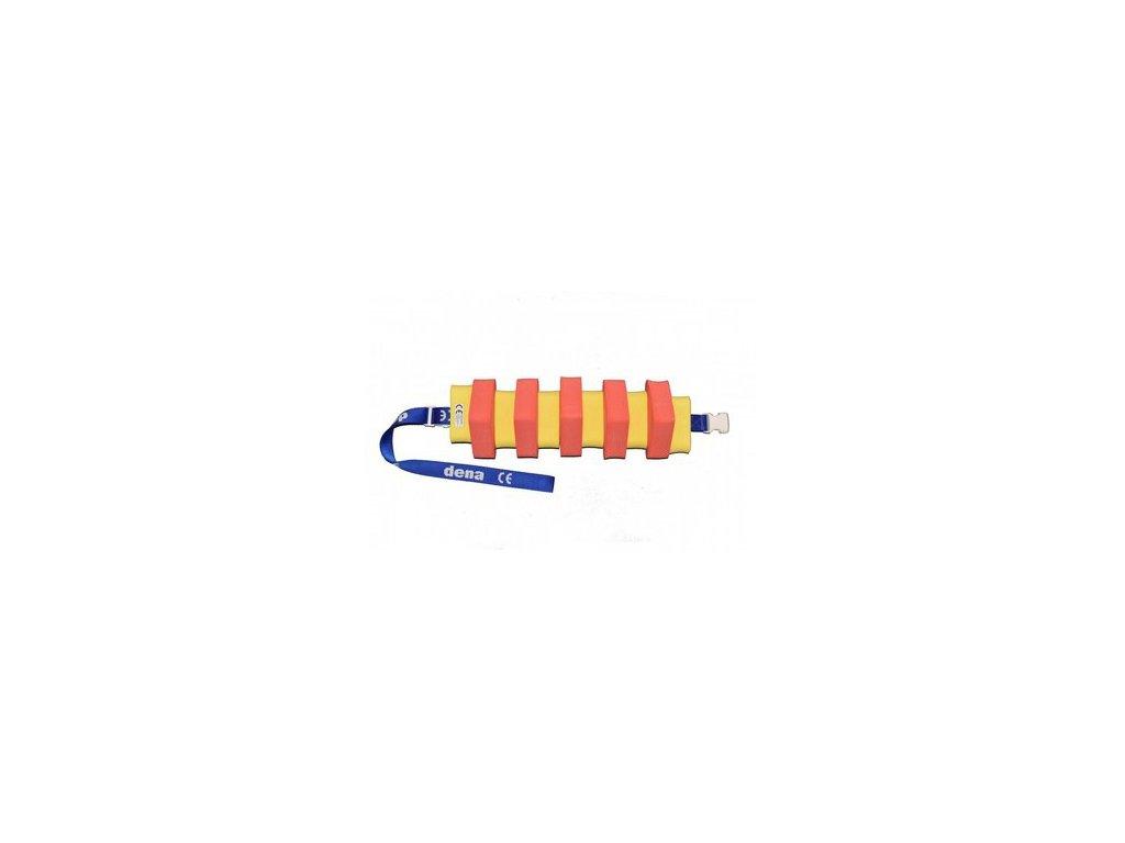 Plavecký pás červeno-žlutý ŠKOLKOVÉ