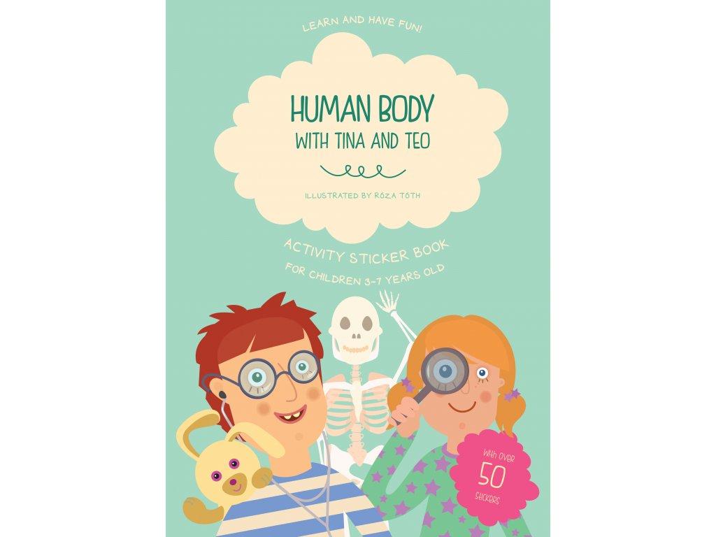Anglický pracovní sešit Human body