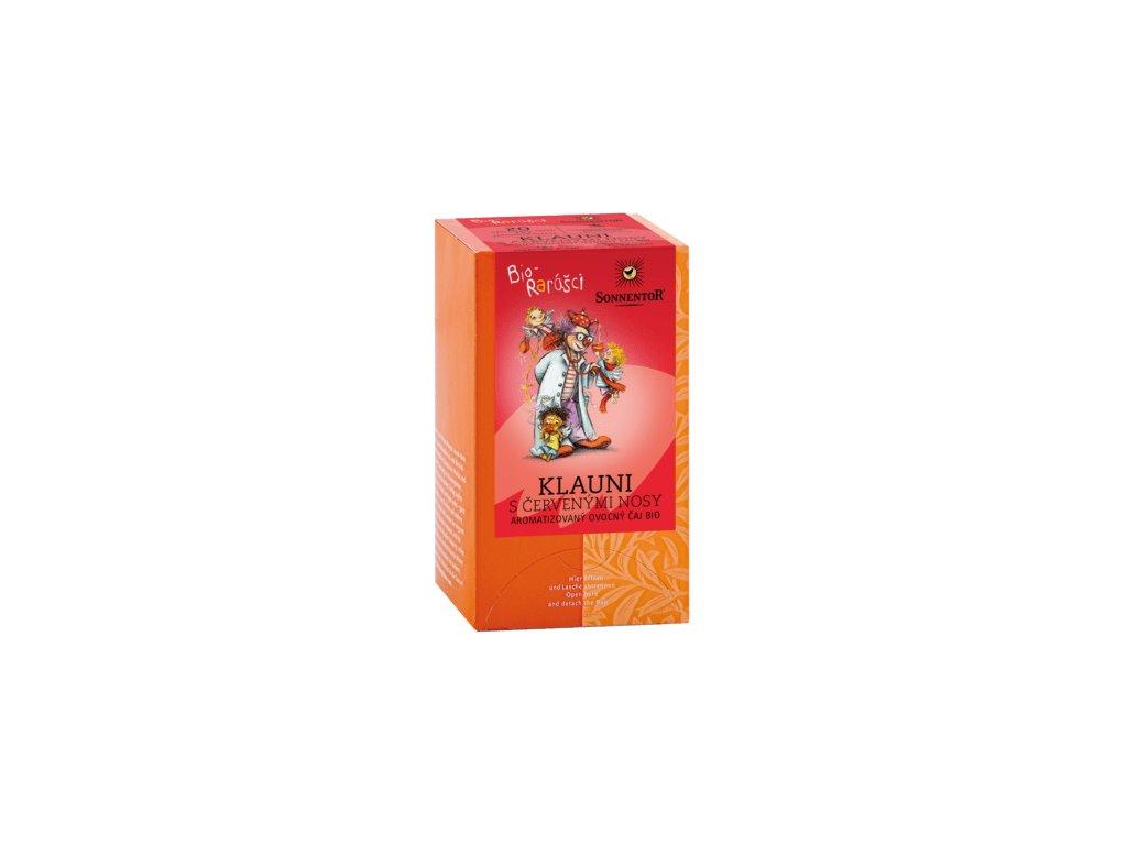 Sonnentor čaj Bio-rarášci bio 40 g  Klauni s červenými nosy