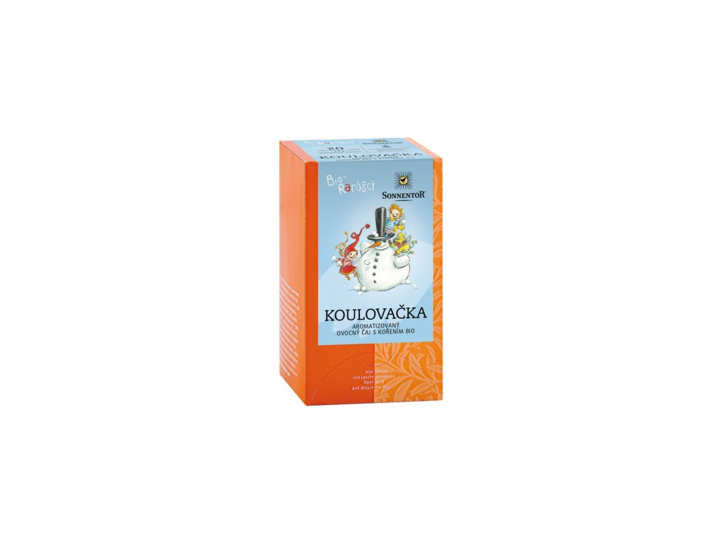 Sonnentor čaj Bio-rarášci bio 40 g Koulovačka