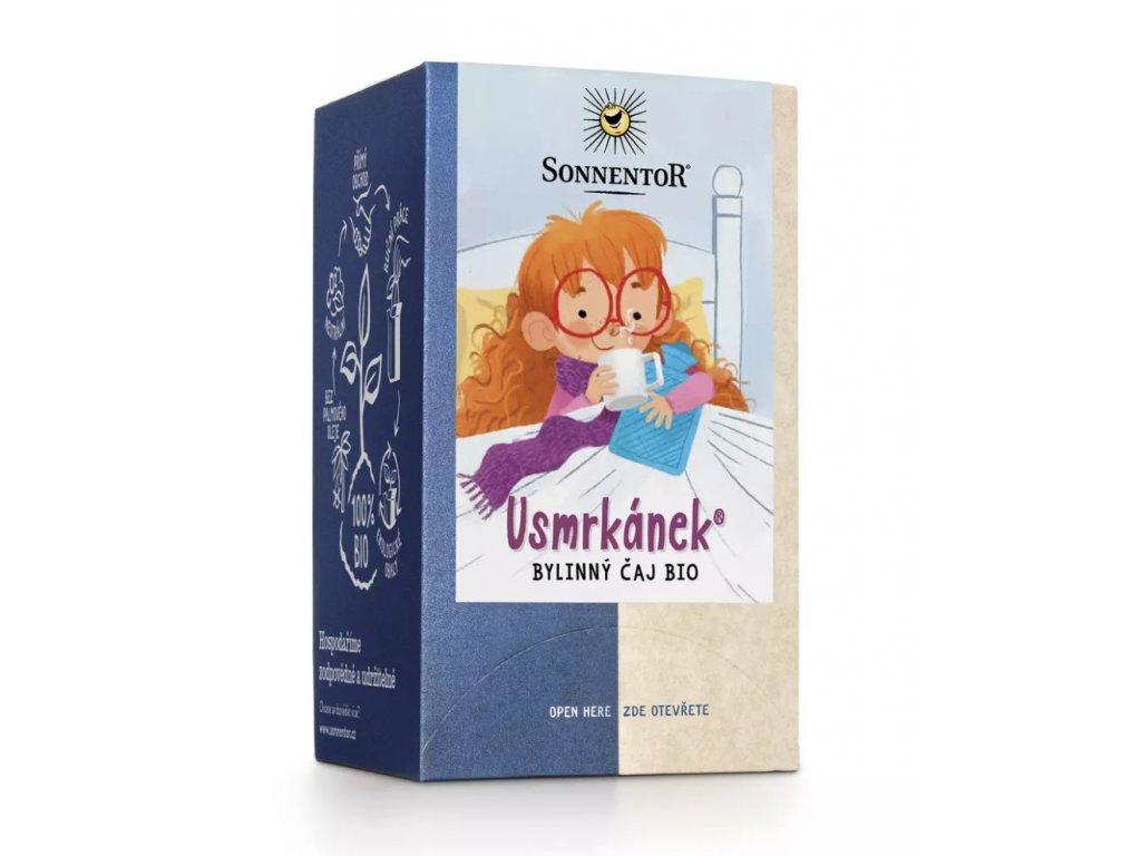 Sonnentor čaj Bio-rarášci bio 20 g Usmrkánek