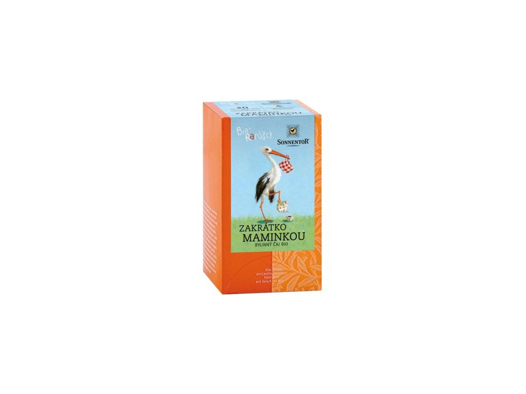 Sonnentor dárkový čaj Bio-rarášci bio 20 g Zakrátko maminkou
