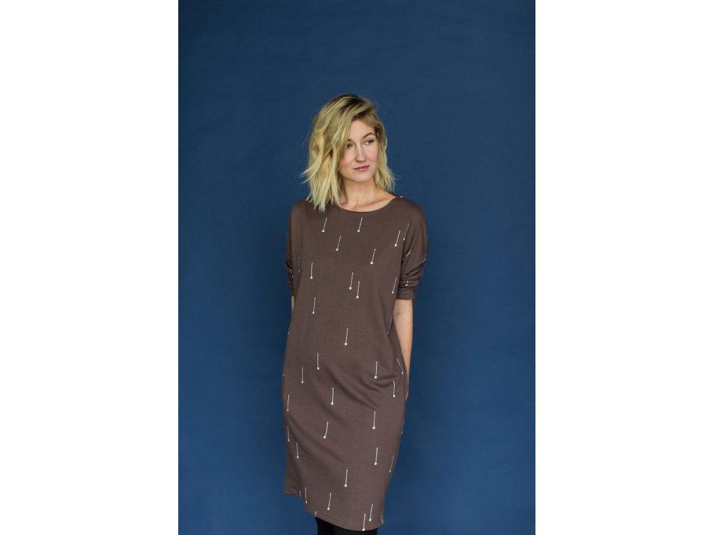 MILE dámské šaty Lyžařské hůlky
