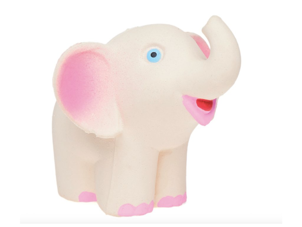 Gumový sloník Juan