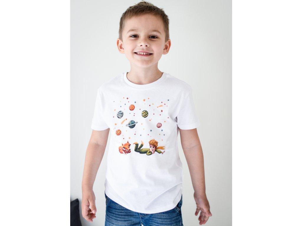 Tričko bio bavlna Malý princ