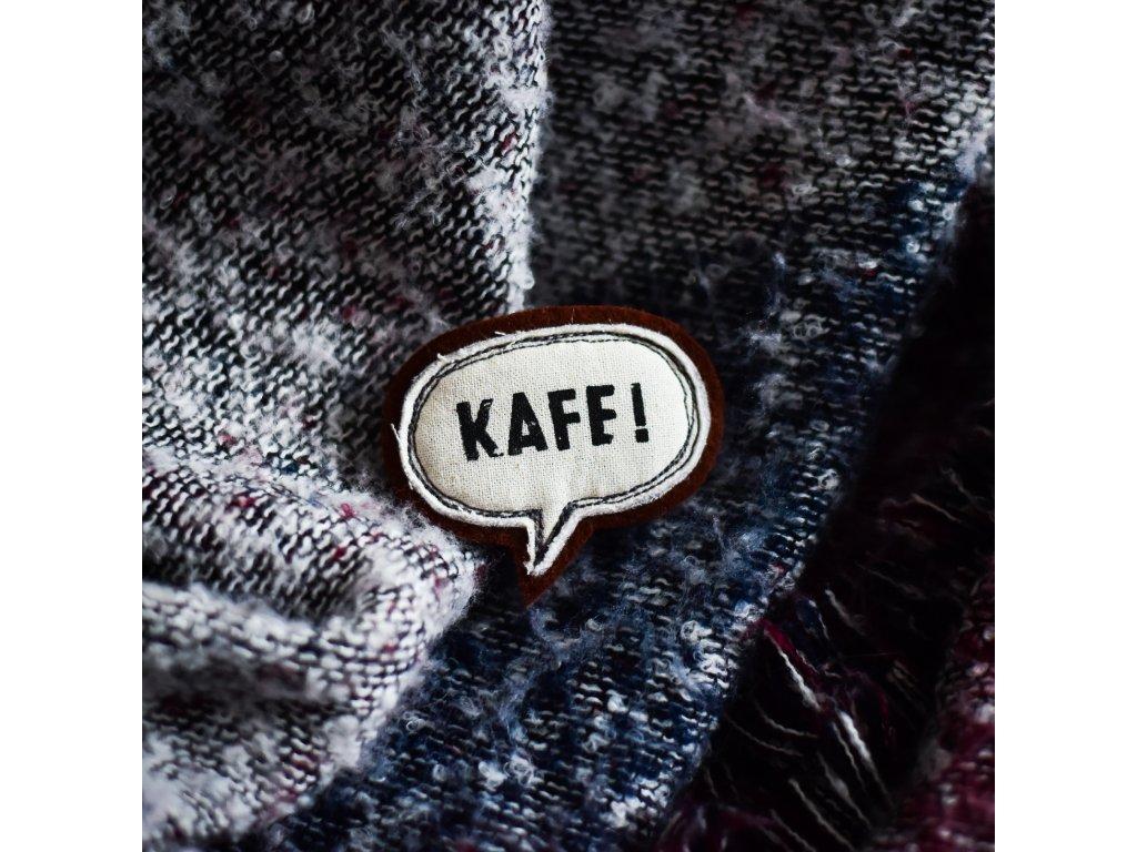 Brož KAFE - vínová