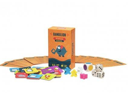 Společenská hra dětská pro 2–6 hráčů, vhodné od 5 let,