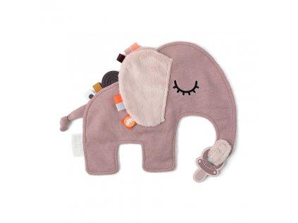 PŘÍTULKA SLONÍK ELPHEE - RŮŽOVÁ slon