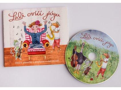 CD Lali cvičí jógu