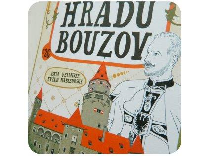 S pastelkami po hradu Bouzov