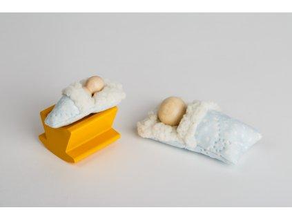 Peřinka a kolébka pro malé skřítky