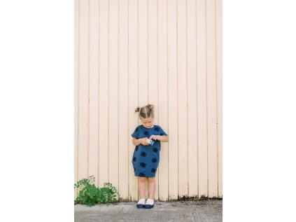 Oversized šaty Kufříky