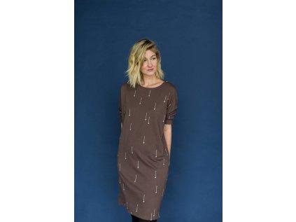 Dámské šaty Lyžařské hůlky