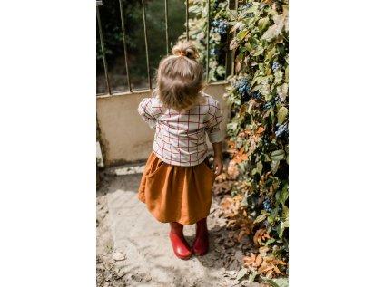 MILE Dětská mikina Mřížka