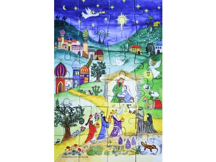 Puzzle adventní kalendář Orient
