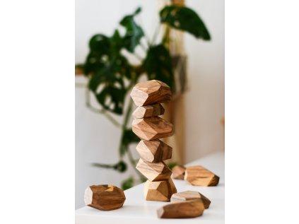 Pišlické balanční kameny - tmavé