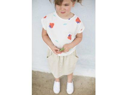 MILE Písková sukně