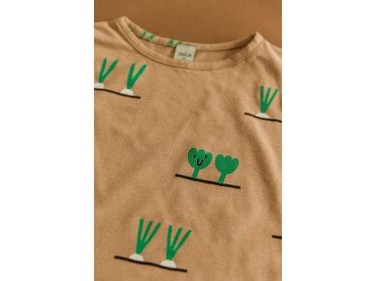 MILE Tričko krátký rukáv Zeleninky