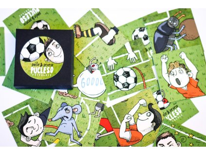 Fotbalové pucleso - pexeso