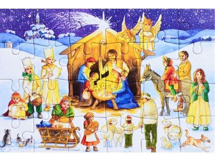 Puzzle adventní kalendář Noční zázrak