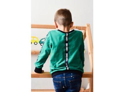 Dětská mikina BIG BOY zelená
