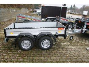 Valník 2400*1250*300 mm 2500 kg