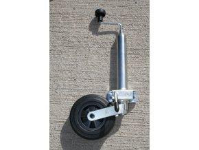 Podpěrné kolečko s klemou . Roura průměr 48 mm.