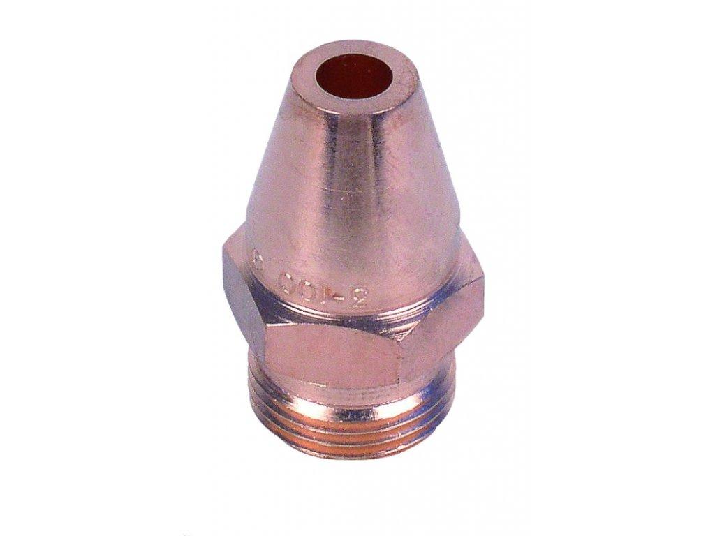 Hubice nahřívací drážkovací strojní PB 3-100
