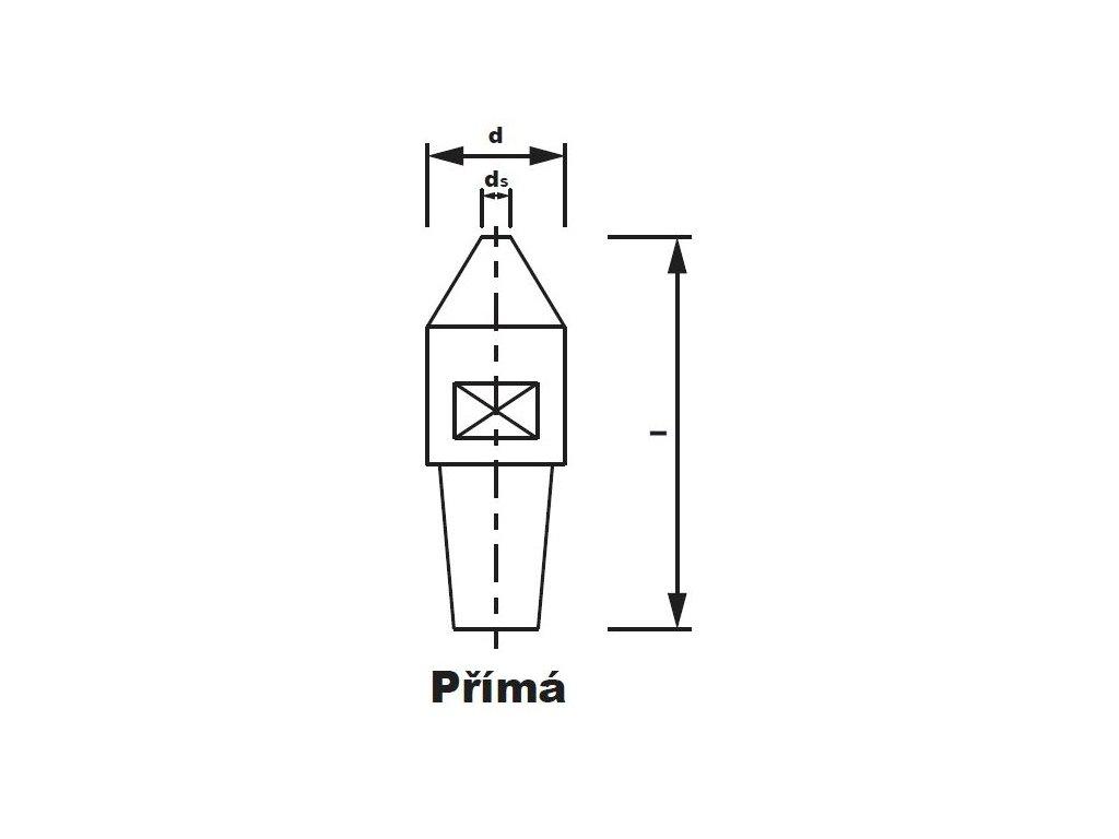 Bodová elektroda TECNA 3720 (pr.16) přímá