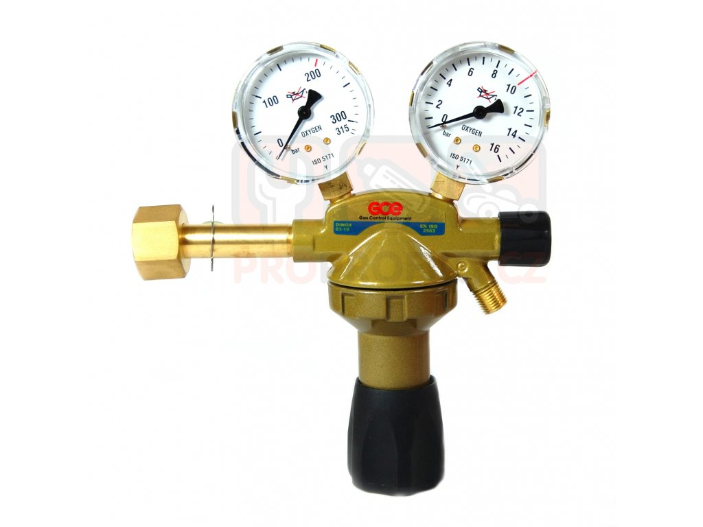 GCE redukční ventil kyslík UNICONTROL