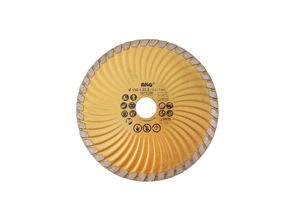 Diamantový kotouč MAGG TURBO-W 150x22,2mm