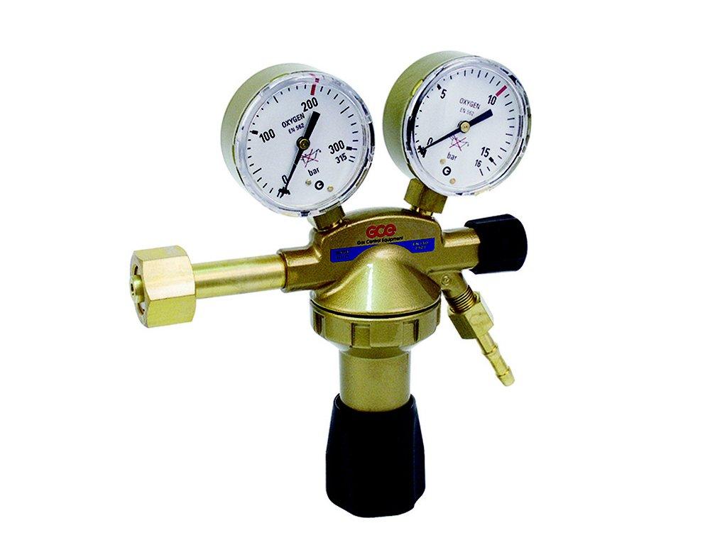GCE redukční ventil kyslík DIN+OX 05 20bar