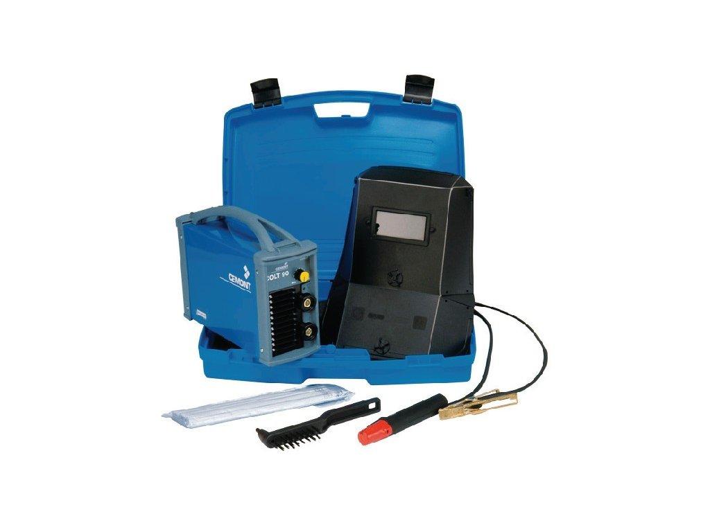 Svářecí invertor CEMONT COLT 3.2 (vč. kufru a kabelů)