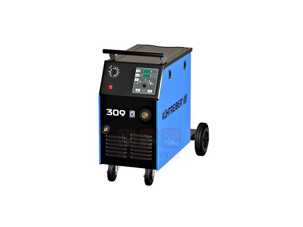 Svářečka KÜHTREIBER KIT 309 MIG/MAG Processor (Set IV) + hořák, red.ventil a kukla