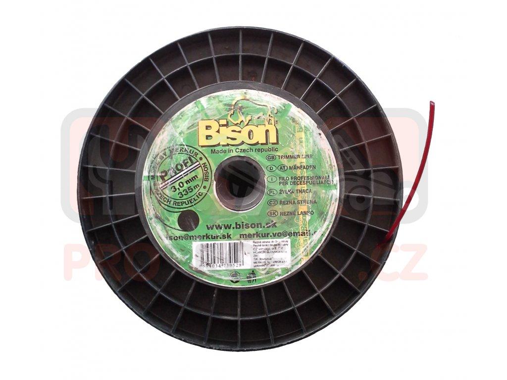Žací struna BISON PROFI - kruhová 2,4 mm / 524 m