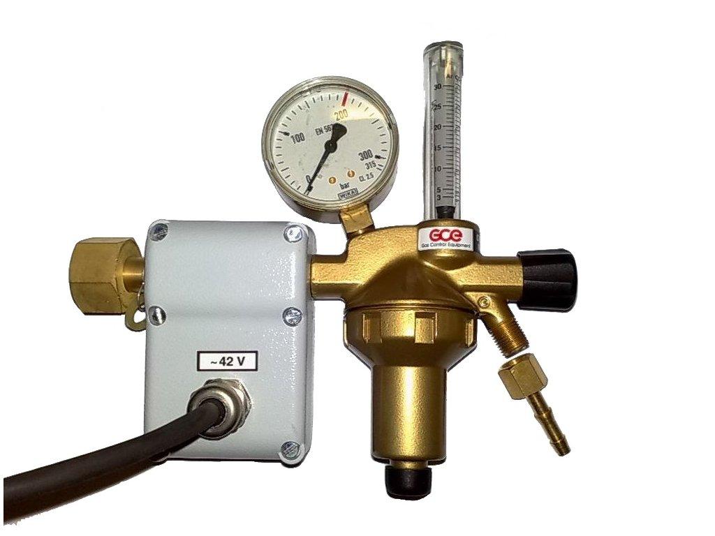 GCE redukční ventil CO2 KU5/24V FLOW N1