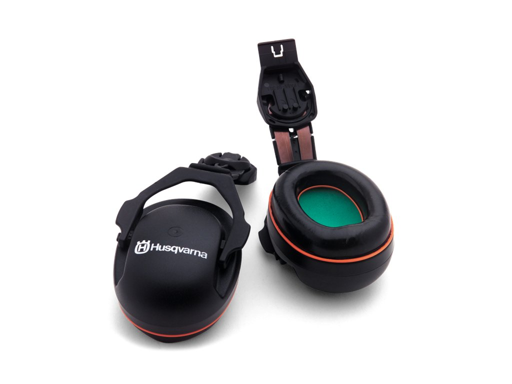 Mušlové chrániče sluchu HUSQVARNA - pro připevnění k přilbě Functional aTechnical