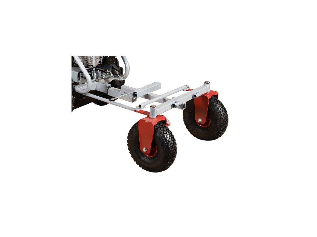 Podvozek říditelného vozíku DAKR KOR 220 (pro stroje Panter)
