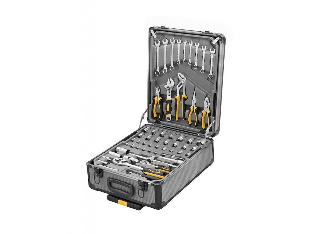 Sada nářadí PROTECO 245 dílů v hliníkovém kufru