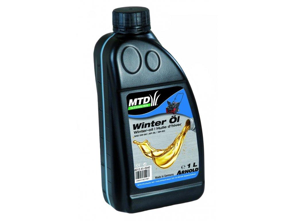 Motorový olej MTD pro čtyřtaktní motory - pro zimní provoz