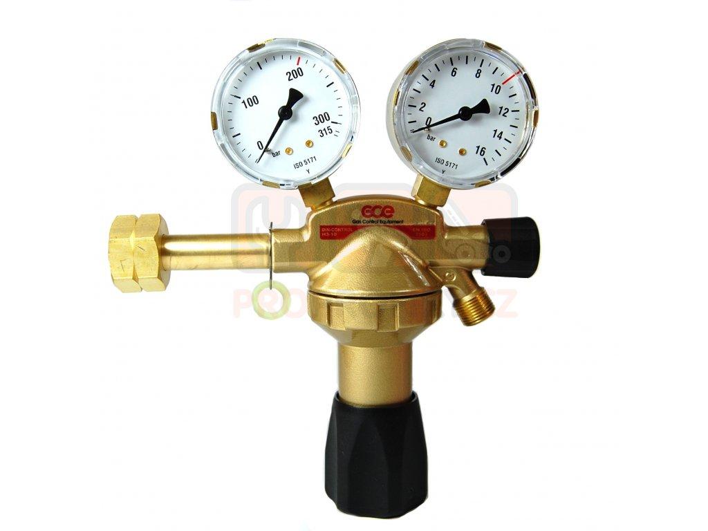 GCE redukční ventil vodík UNICONROL