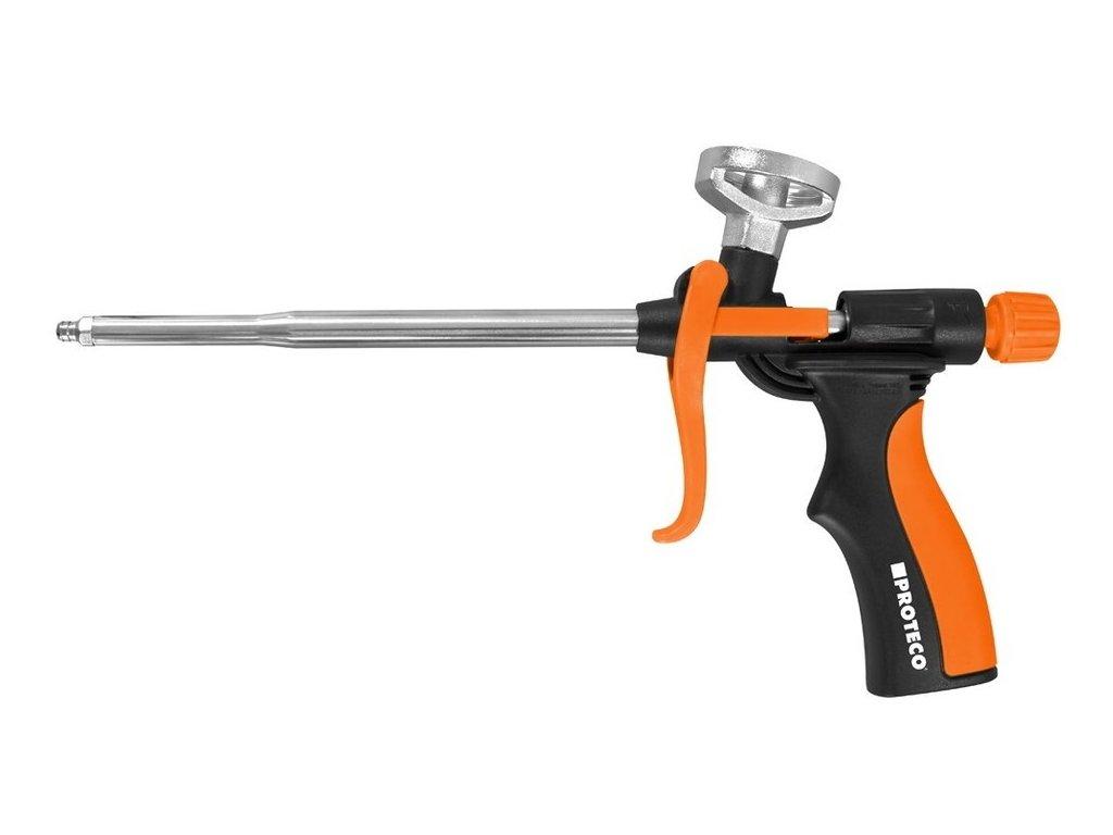 Pistole na PU pěny PROTECO celokovová