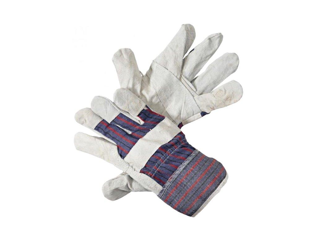 Pracovní rukavice ČERVA FF HS 01 kožené, vel. 10