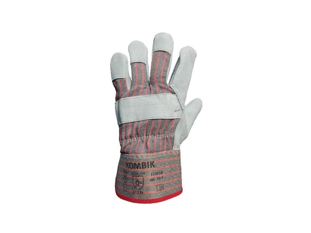 Pracovní rukavice KOMBIK kombinované, vel. 10