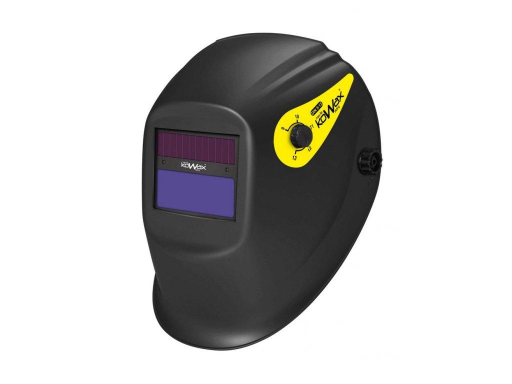 Samostmívací svářečská kukla KOWAX KWX6 (utěsněná krycí fólie)